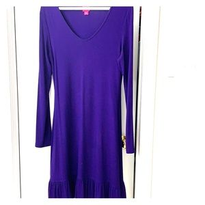 2 for $15 Jersey dress with ruffle detail at hem